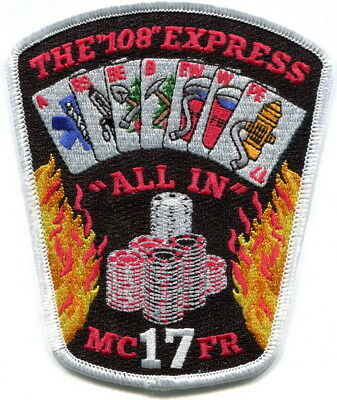 Maryland - Montgomery County Fire Laytonsville station 17 current style patch