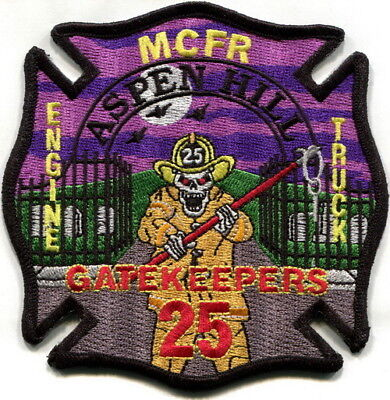 Maryland - Montgomery County Fire Aspen Hill station 25 current style patch