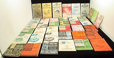 Large Lot of 39 Pennsylvania Hunting and Trapping Regulations Digest 1964-1990