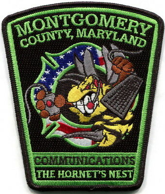 Maryland - Montgomery County Fire & Rescue Communications current style patch