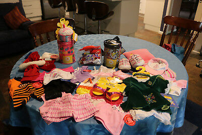 Build a Bear Assorted clothing and Accessories