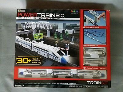Power Trains Deluxe City Motorized Train Jakks Pacific Trans Euro Express
