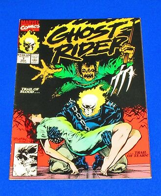 GHOST RIDER Issue #7 [Marvel 1990] VF+ or Better!