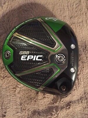 NEW Callaway Great Big Bertha Epic Sub Zero 9* Driver Head Only