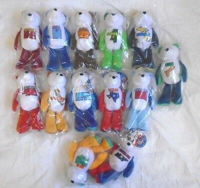 Assorted Lot Limited Edition Coin Bears State Quarters