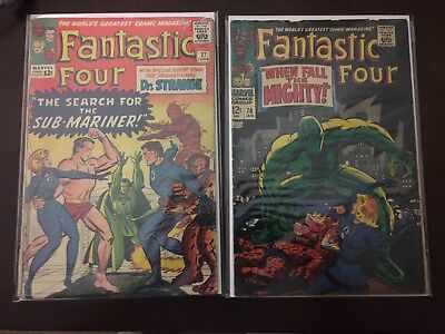 Fantastic Four LOT Issues 27 and 70