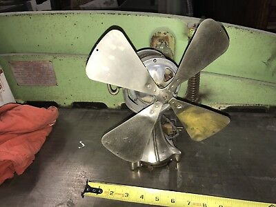 "Great Art Deco Elector Fan 8"" blade"
