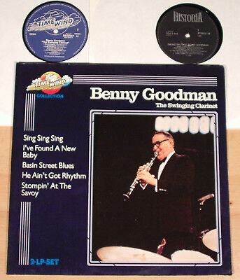 BENNY GOODMAN - The Swinging Clarinet  (TIMEWIND, D / 2LP / vg++)