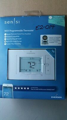 Emerson Sensi WiFi 7-Day Smart Programmable Remote Access Thermostat (UP500W)