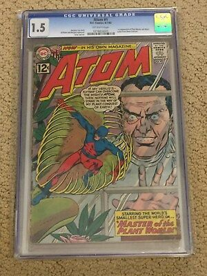 The Atom 1 CGC 1.5 OW Pages- with extra reader copy from 1962!!