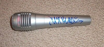 Just Blaze - Autographed Microphone! Signed! Record Producer & DJ