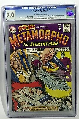 Brave and the Bold # 57 CGC 7.0 First appearance Metamorpho + Origin