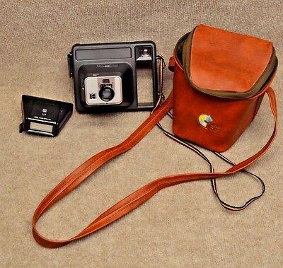 ~Kodak Handle 2 Instant Camera 1970's Vintage with Case and MAGIC Made in *USA~