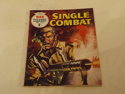 WAR PICTURE LIBRARY NO 446!,dated 1968!,V GOOD for age,great 49!YEAR OLD issue.