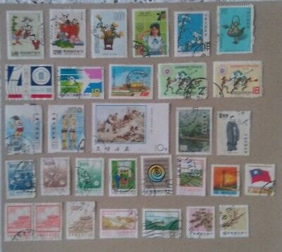 China - A mixed selection of stamps