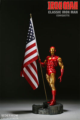 Sideshow Classic Iron Man Comiquette - Never Displayed