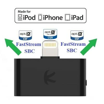KOKKIA i10L_Pro : Lightning Connector Bluetooth Splitter for iPhone,iPad,iPod