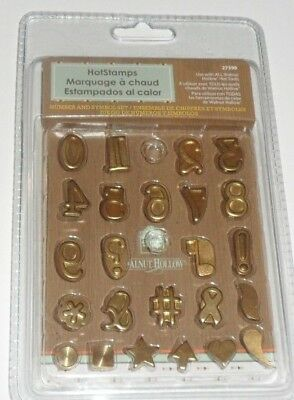 Walnut Hollow Creative HOTSTAMPS Numbers and Symbol Set #27399