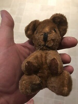 Teddy Bear Merry Thought 1945 Label 6 Inch Original