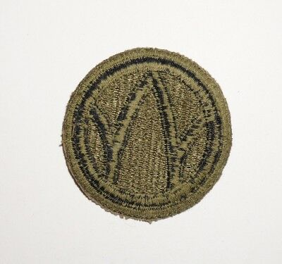 89th Infantry Division Greenback Patch WWII US Army P5209