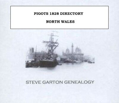 Pigots 1828 Directory Of North Wales