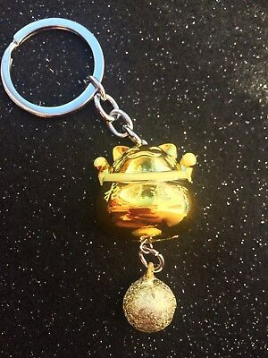 Gorgeous Keyring/bag Charm Feng Shui Cat With Bell