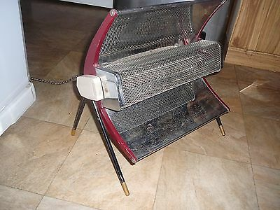 retro speedie red heater working high and low