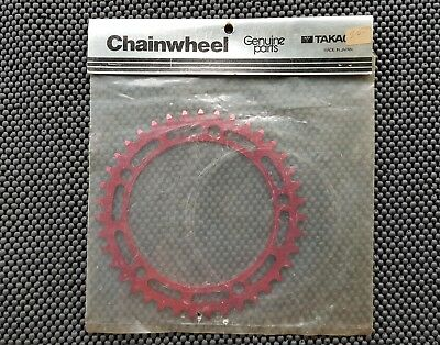 New vintage bmx 39t Takagi chain ring sealed. made in Japan. #1