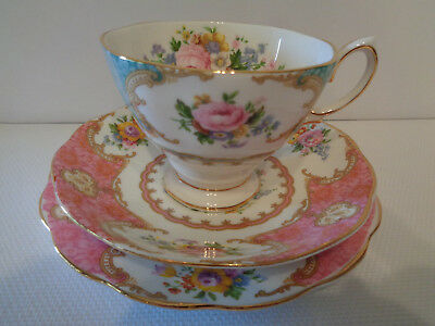 Royal Albert Trio - **Lady Ascot** / **Lady Carlyle** Combination - Ex. Cond.