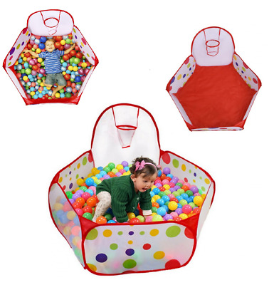 Baby Play Tent Ball Pit Toddler Toy Stages With BasketBall Hoop and Zippered St  sc 1 st  PicClick & BABY Play Tent Ball Pit Toddler Toy Stages With BasketBall Hoop ...