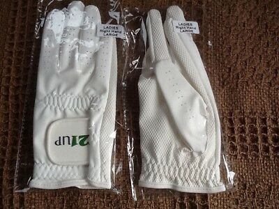 bowls gloves ladies size large right hand x 2