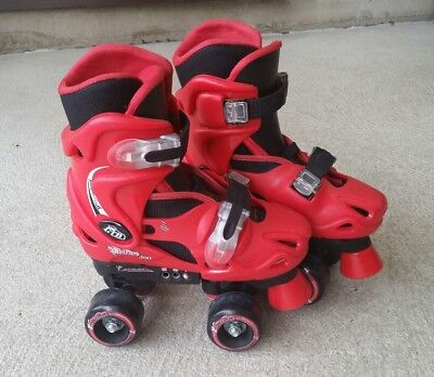 Girls, Boys, Kids Adjustable Quad Roller Skates