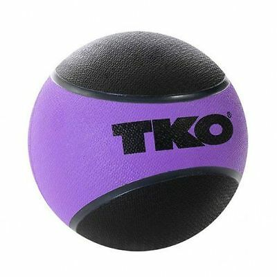 TKO Rubberised Medicine Ball - Purple, 1 Kg