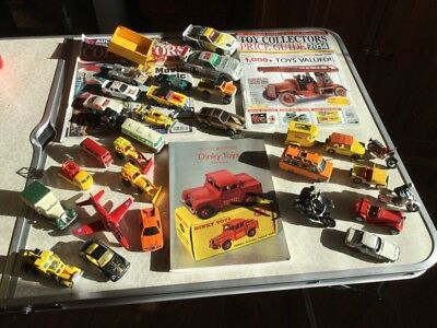 Collection Of Corgi. Dinky And Other Vintage Toy Cars & Book