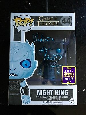 Signed Funko Pop - Night King SDCC Exclusive Signed by Vladimir Furdik