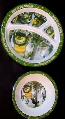 Where The Wild Things Are, Melamine Plate-Dividers and Bowl  Warner Bros. Ent