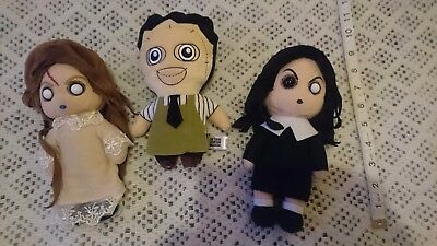 Texas chainsaw Massacre leatherface and living dead dolls plush.. X3
