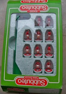 Subbuteo Team Svizzera Lw Ref N.114 Mint Condition Hand Painted Players & Box