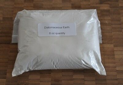 1/2 Lb 8oz 228 grams Perma-Guard Organic Food Grade Diatomaceous Earth