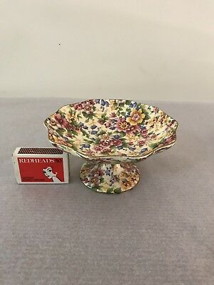 Royal Winton Grimwades Chintz Comport Made in England