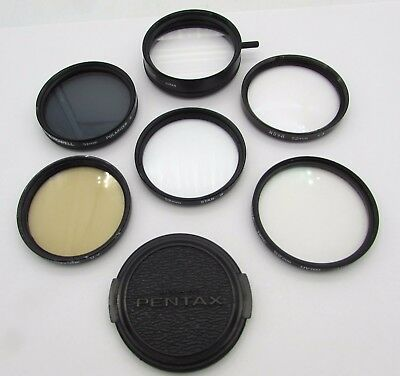 SIX SLR Camera Filters 52mm Multi-Image Polarizer Warmtone Star 8 +3 Close-Up UV