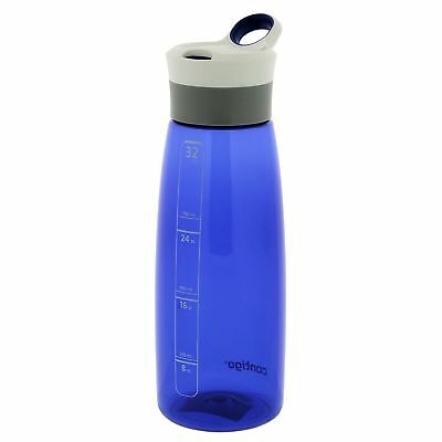 Contigo AUTOSEAL Grace Water Bottle 32oz Cobalt Blue Leak Proof BPA Free Plastic