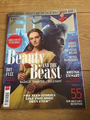 total film magazine March 2017 Issue 255, Beauty And The Beast, Emma Watson