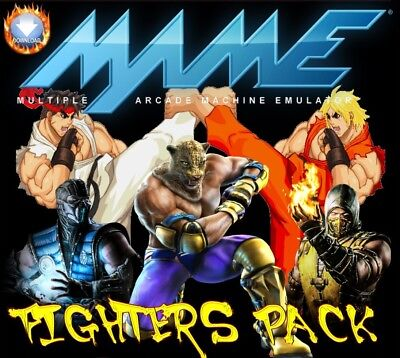 Arcade Fighters Pack (Not Hyperspin)  **extract & Play**