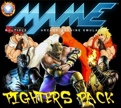 Mame Fighters Pack (1.5Gb)  **extract & Play**