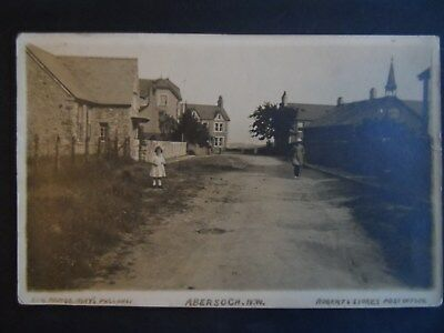 mays series postcard abersoch roberts post office carnarvonshire by pwllheli