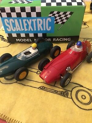 BRM MM/C59 LOTUS 1961 MM/C63 Made in FRANCE SCALEXTRIC TRIANG
