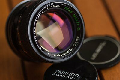 Auto Tamron 105mm 2.5 BBAR MC - Very good condition