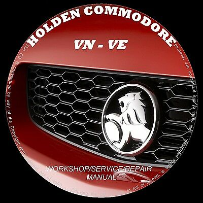 Holden Commodore Vn Vp Vq Vr Vs Vt Vx Vy Vz Ve Workshop Service Repair Manuals