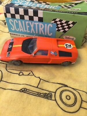 Mercedes Walkel Scalextric Exin Spares Or Repair With Ibox